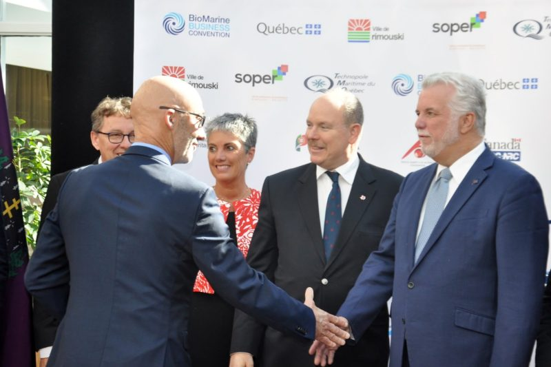 "Photo of Top Monaco Princely News: ""green"" congresses and inauguration of Rainier monument"
