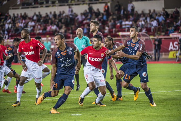 Photo of AS MONACO  STOOD AGAINST MONTPELLIER HÉRAULT​ 1-1