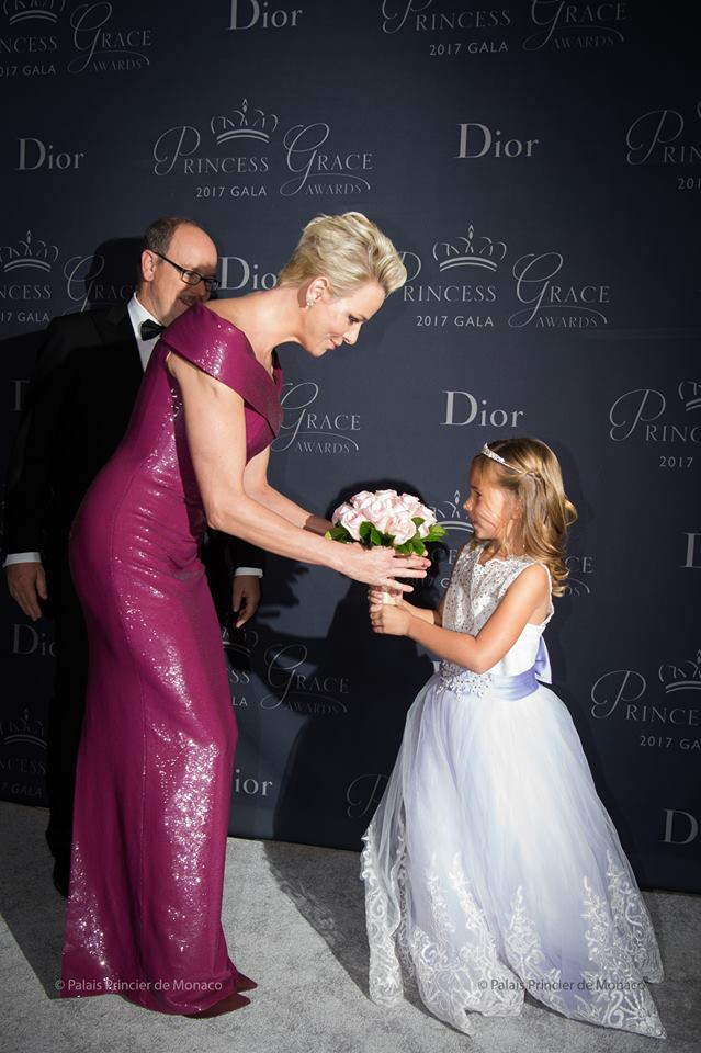 Prince Albert II and Princess Charlene attended 2017 Princess Grace Awards