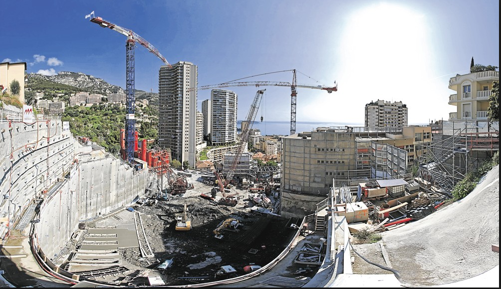 Construction in Monaco