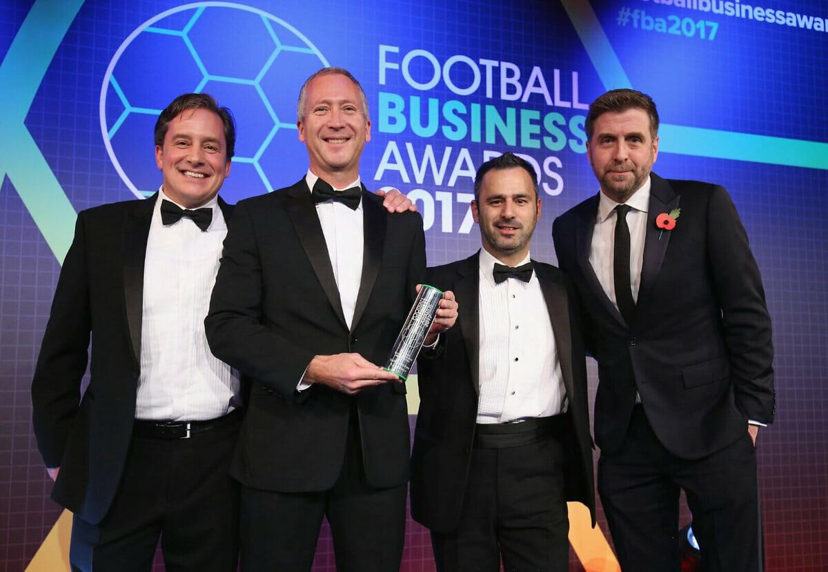 Football business awards