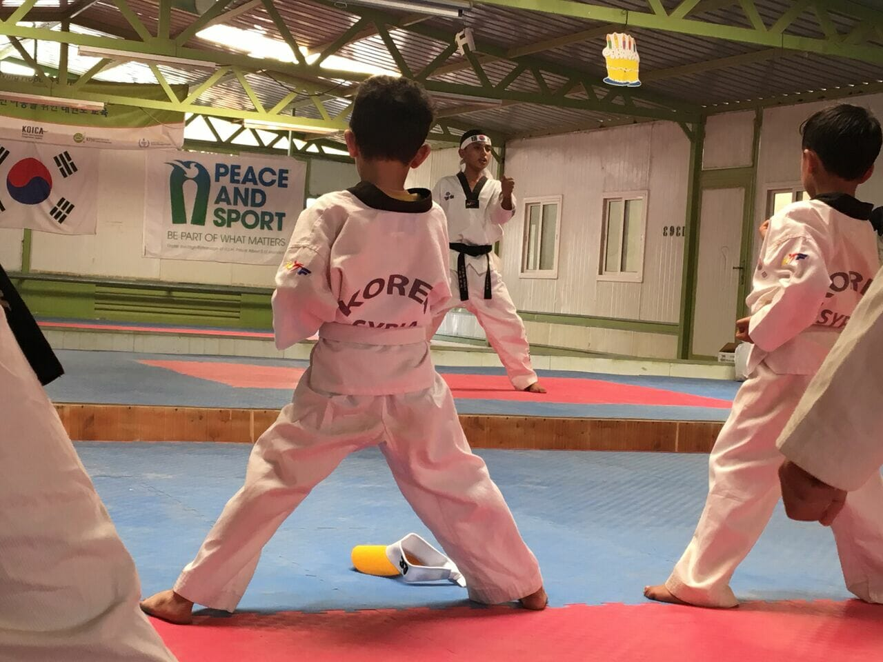 Judo Project in Zaatari Camp, Jordan