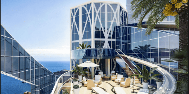 Monaco water - Odeon Tower
