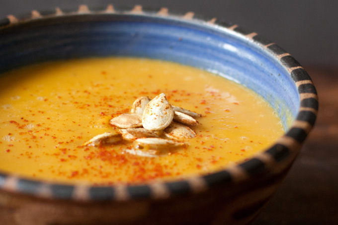 spicy pumpkin soup thai