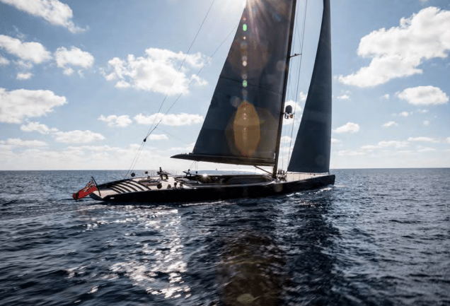 Photo of 58-meter Royal Huisman S/Y Ngoni and other yacht news