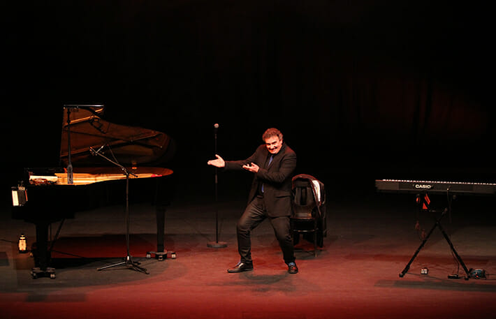 """Piano Rigoletto and Tutti Frutti"","