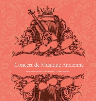 Concert of ancient music