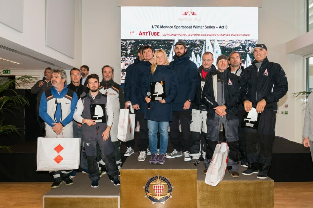 Photo of 5th Monaco Sportsboat Winter Series: All honours to the lady