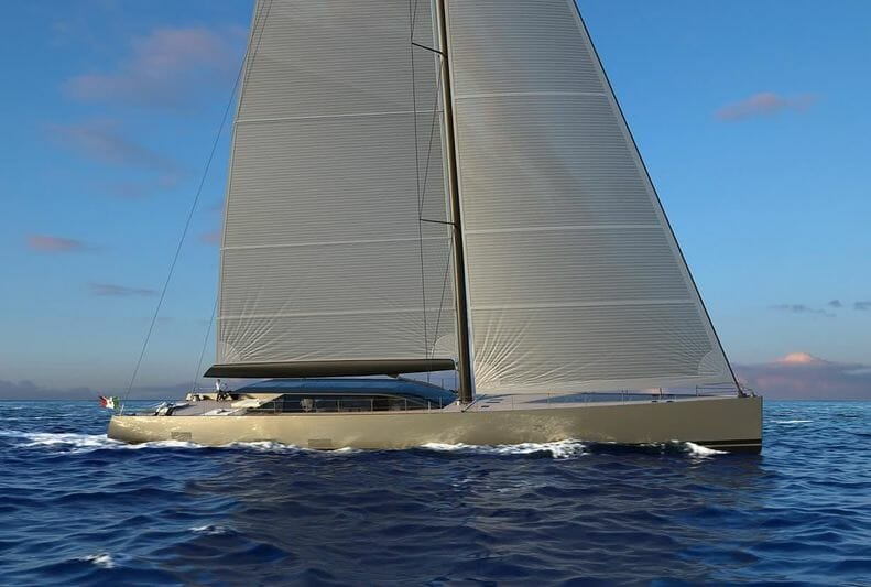 S/Y E-Volution and a 25-meter Eco Tender