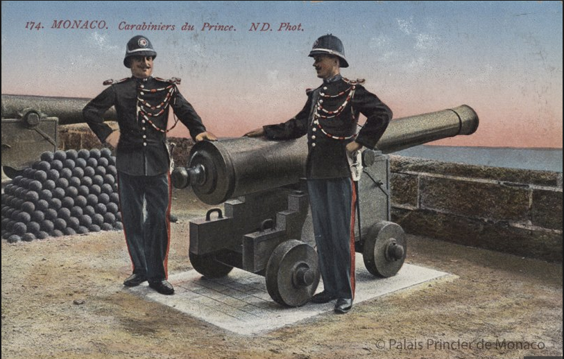 Palace Guards - Bicentennial postcard