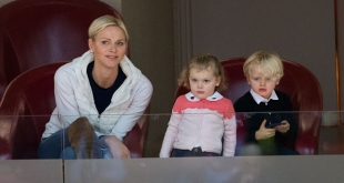 Princess Charlene and the twins