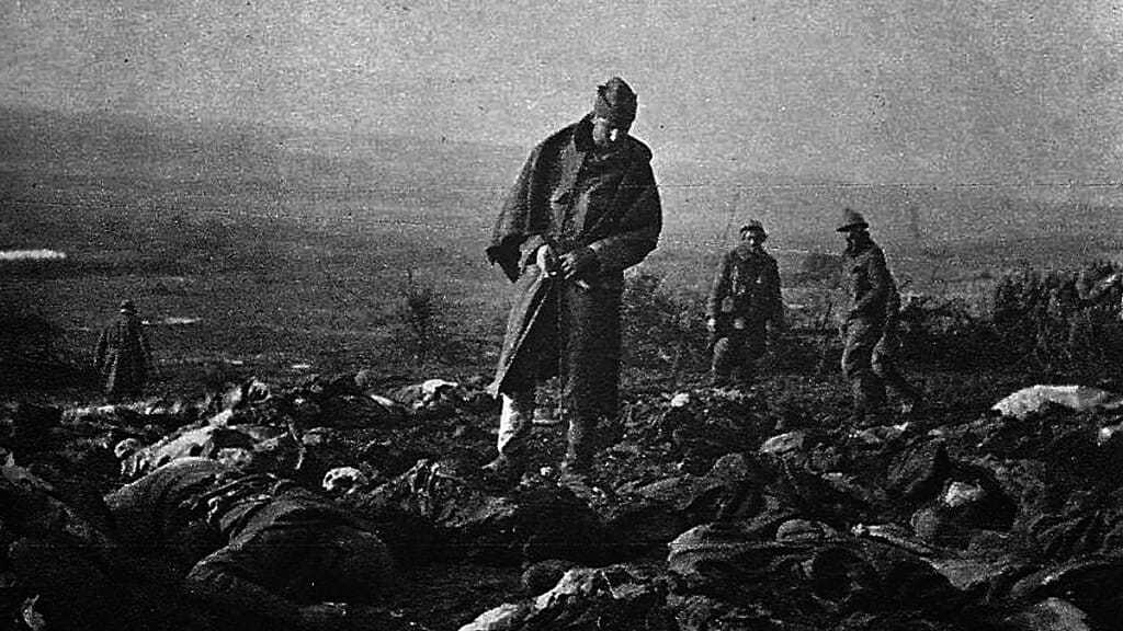 Chemin des Dames, a great loss of life