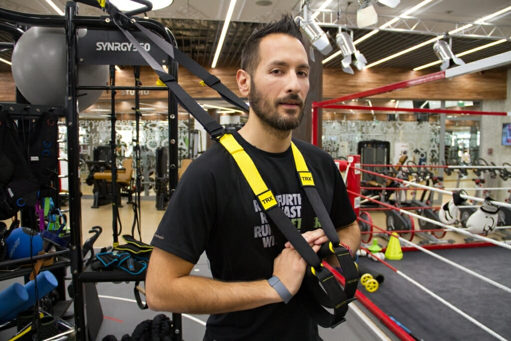 TRX as special suspension training