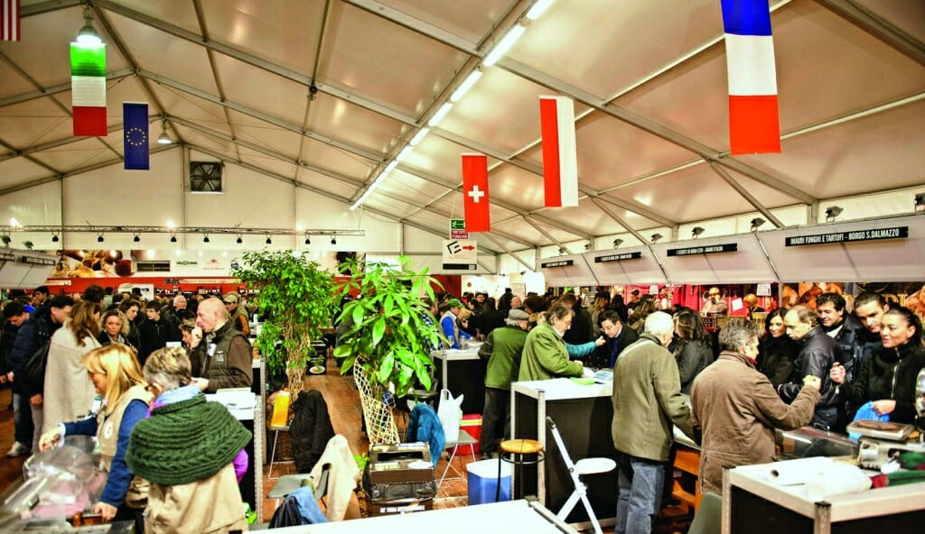 The International Truffle Fair at Alba