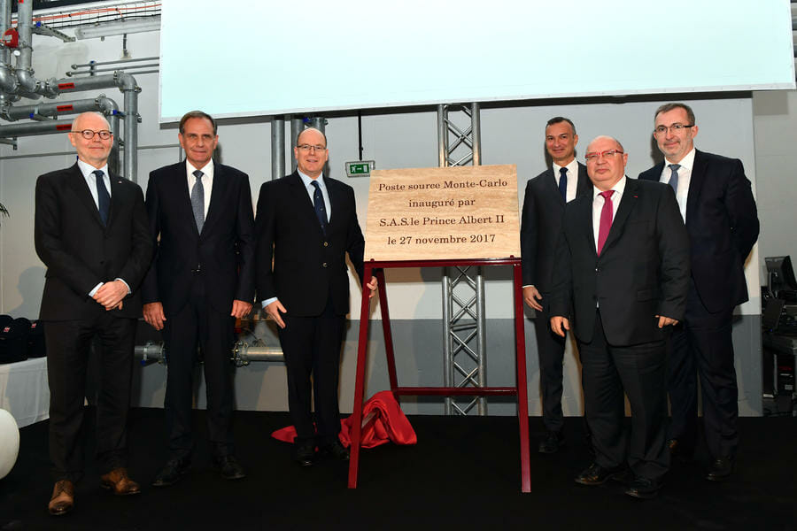 Monaco's 3rd Power Station Inauguration