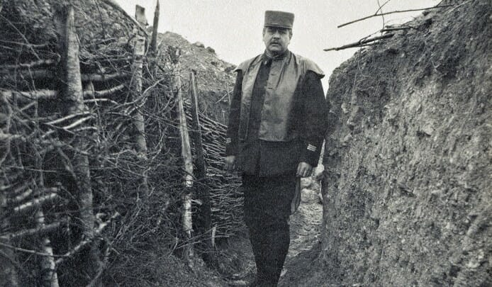 Prince Louis II in the trenches WWI