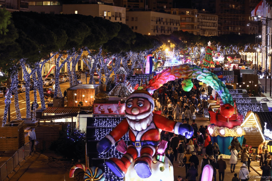 Christmas Villages.Celebrate New Year S Eve At Monaco S Christmas Village