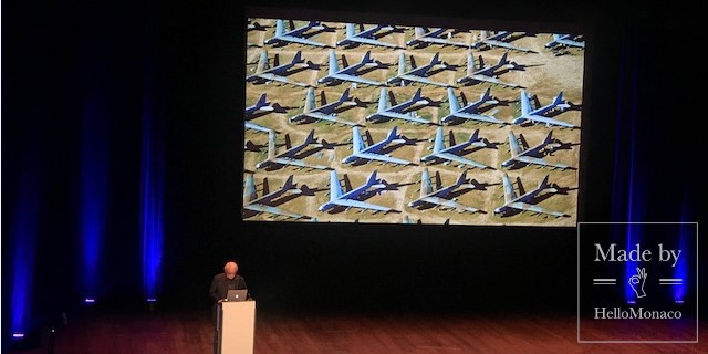 """Vu du Coeur"": The conference of Yann Arthus-Bertrand"