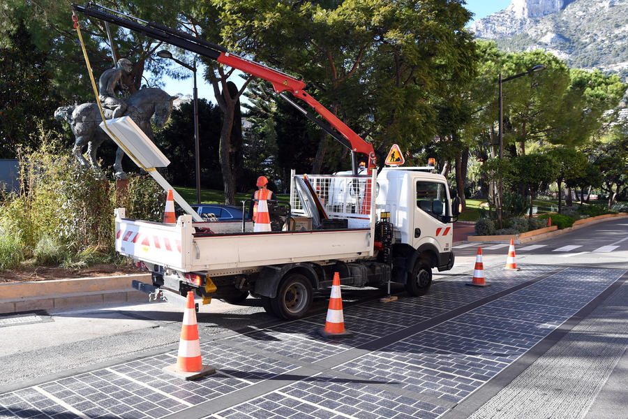 Photo of Solar roads in Monaco