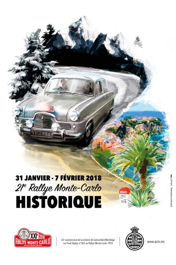 Историческое ралли Монте-Карло-2018