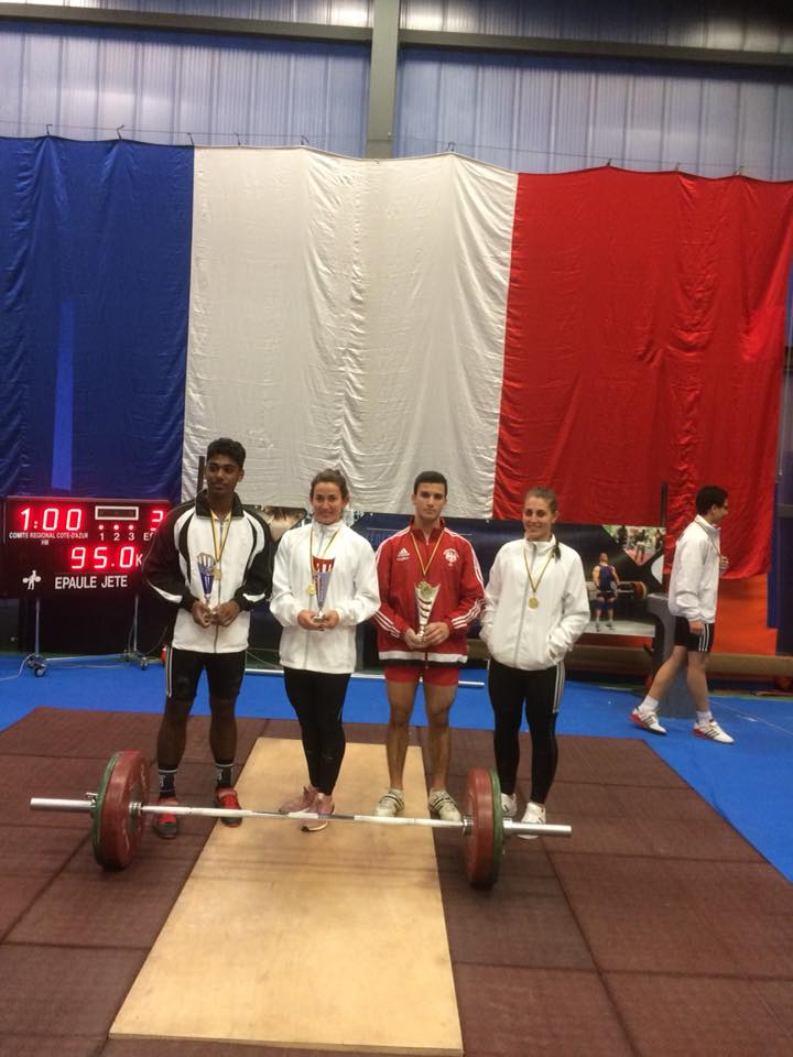 AS Monaco Weightlifting