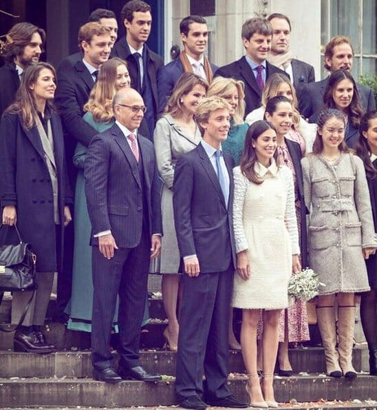 Civil wedding of Prince Christian and Alessandra de Osma