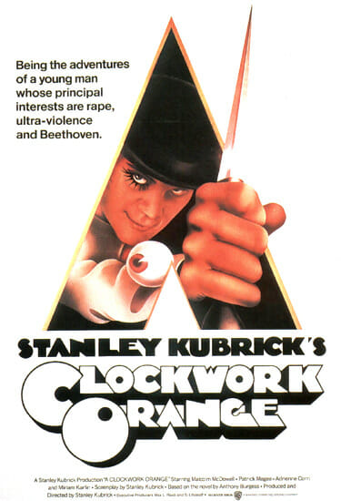 Stanley Kubrick's film A Clockwork Orange