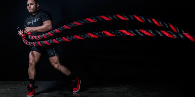 training with a rope