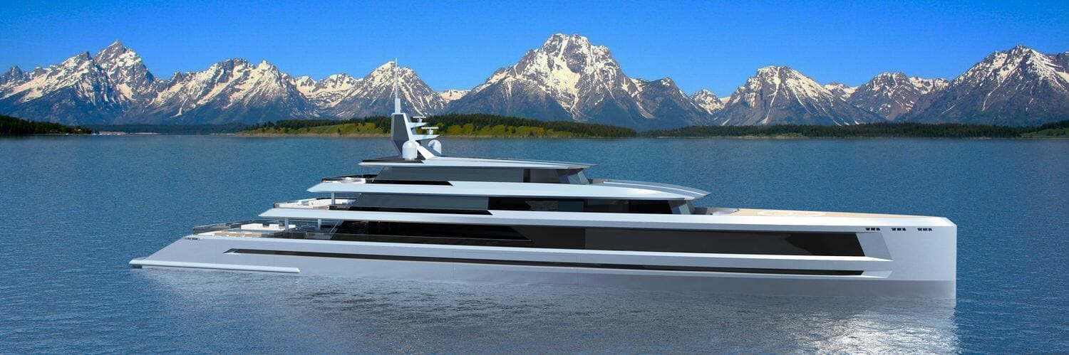 Photo of New 80m yacht concept Sunset and other yacht news