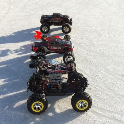 Radio-controlled electric cars/hobby models