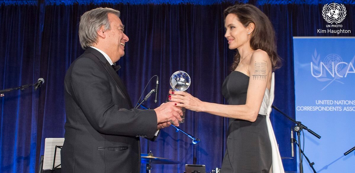 Photo of Prince Albert II of Monaco Prize awarded at United Nations Gala in New York