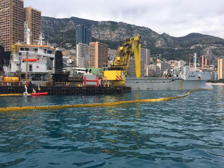 Photo of Monaco Seafront Extension Project has Low Impact on Environment