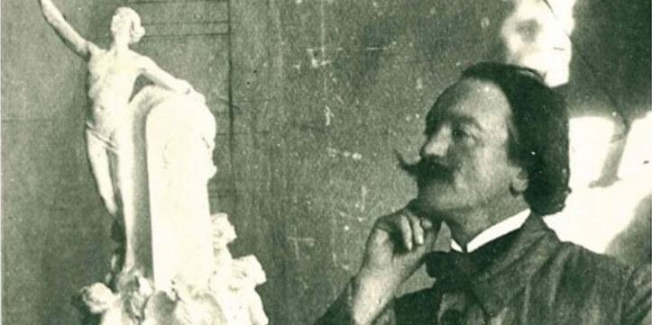 Photo of Umberto Bassignani — Italian sculptor in Monaco