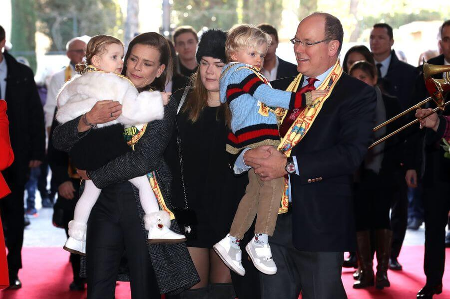 Gabriella and Jacques attend Monte-Carlo Circus Festival