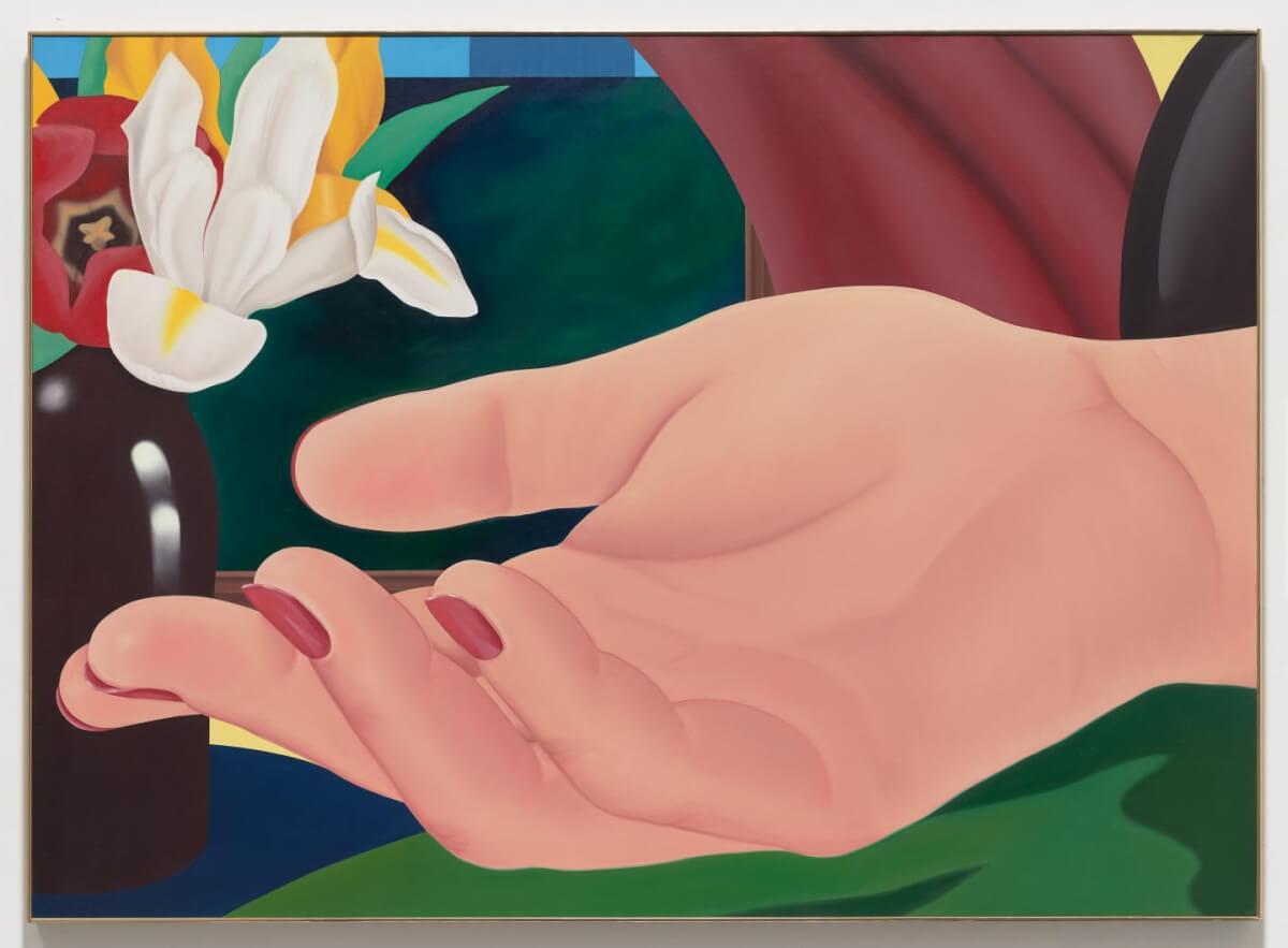 Ginas' Hand, Tom Wesselman.