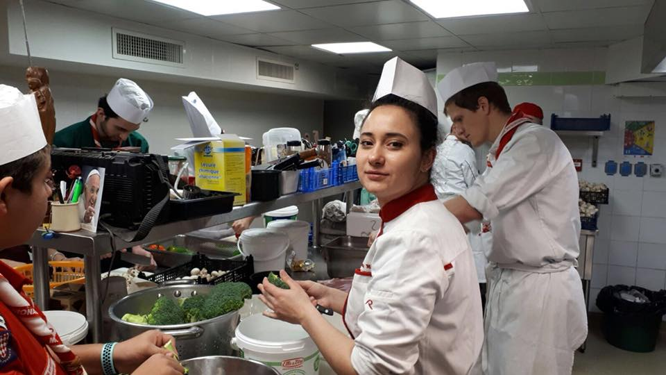 Guides and Scouts Association of Monaco organize A Great Chef for All