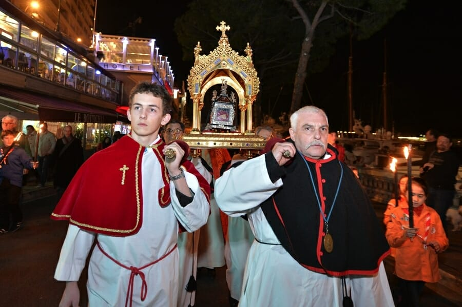 St. Devote Procession in Monaco