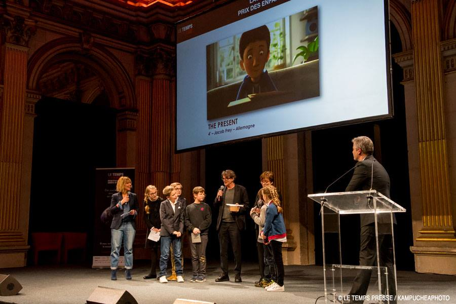 Le Temps Presse, Short Film Festival Ceremony
