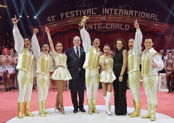 Award gala - 42nd Monte Carlo International Circus Festival