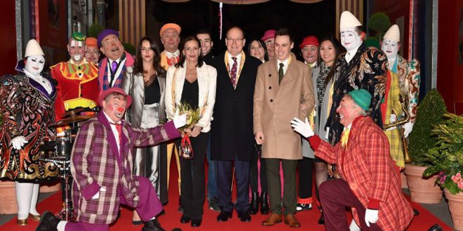 Opening of the 42nd International Circus Festival of Monte Carlo