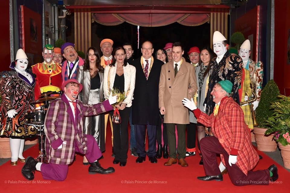 Photo of Opening of the 42nd International Circus Festival of Monte Carlo