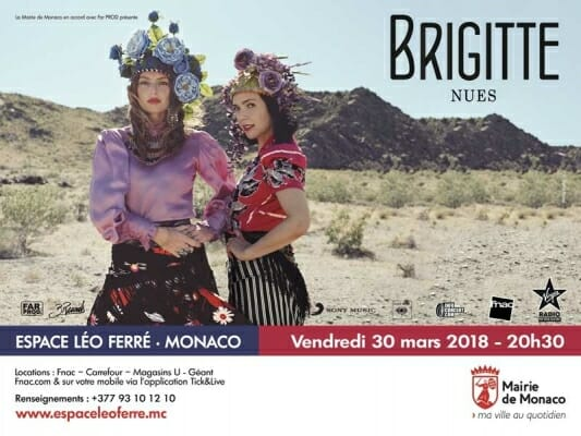 """Концерт дуэта """"Brigitte"""""""