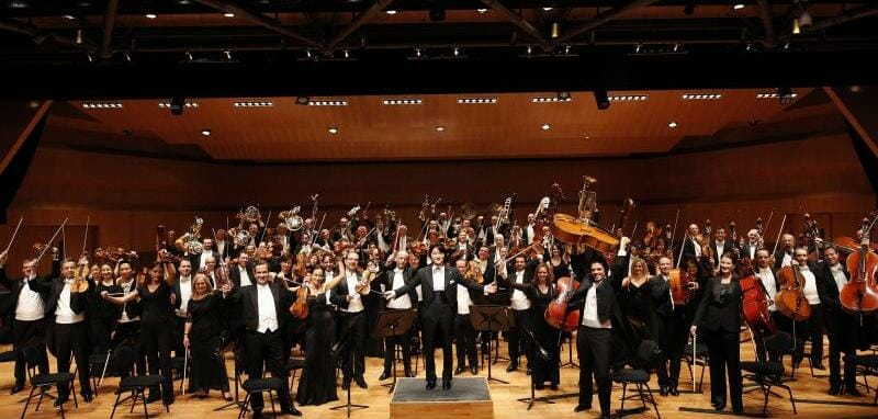 Monte-Carlo Philharmonic Orchestra conducted by Kazuki Yamada