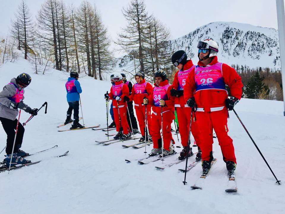 1st European Grand Prix for Alpine Skiing organized by Special Olympics Monaco