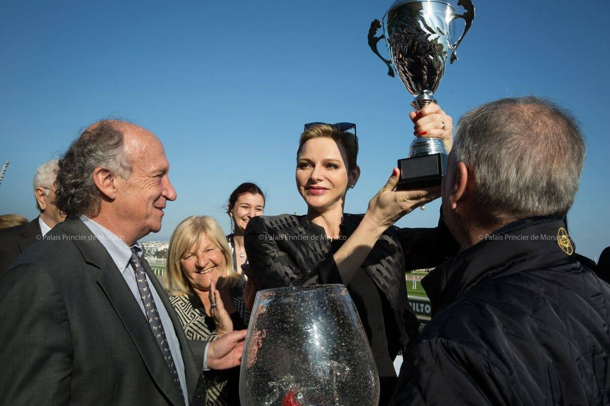 Princess Charlene of Monaco Charity Horse Race