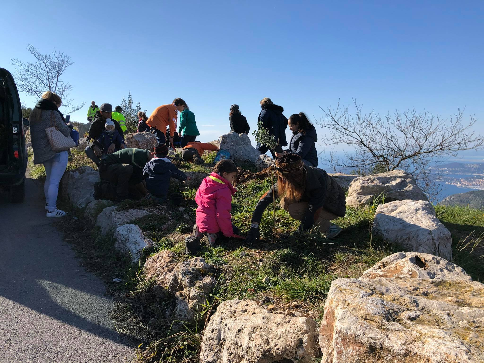 Guides and Scouts of Monaco Reforestation Project