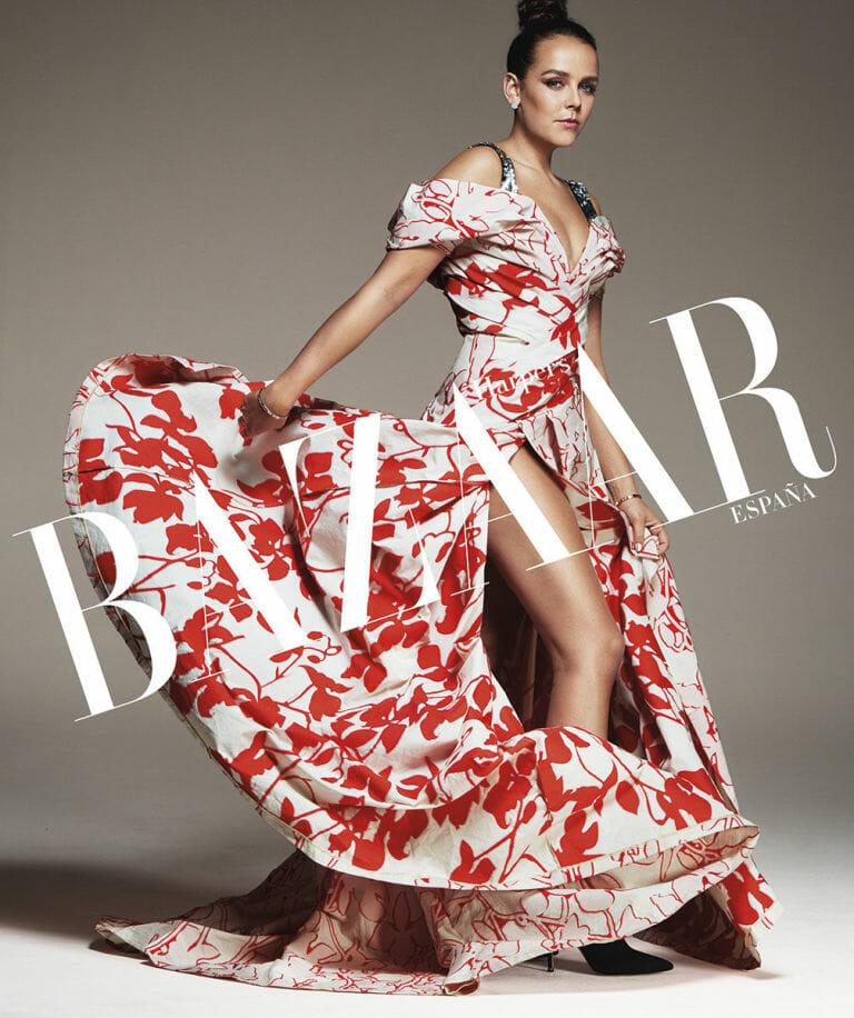 Harper's Bazaar with Pauline Ducruet