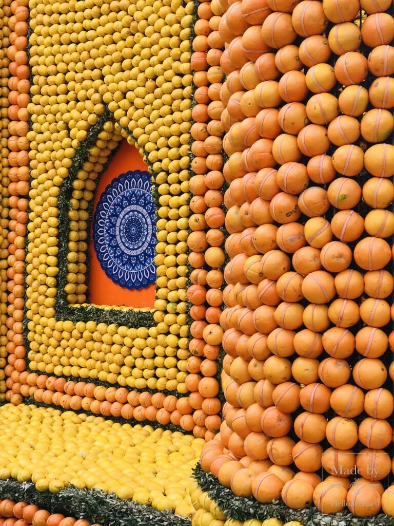 Lemon Festival in Menton (Fête du citron)