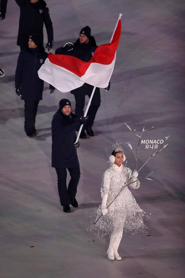 Monaco Winter Olympics 2018