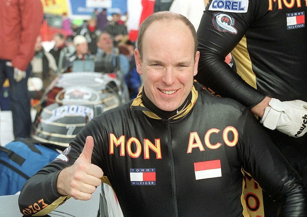 Prince Albert's Interview on Bobsleigh